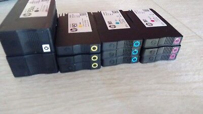 Lot of Empty (2) 950XL and (9) 951 Ink Cartridges