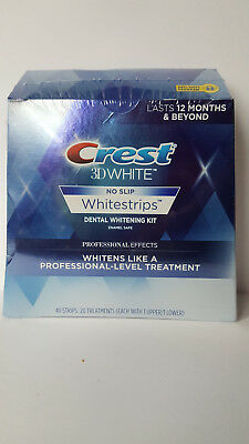 Crest3D Whitestrips NO SLIP PROFESSIONA EFFECTS 14.20.40 strips