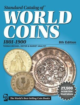 KRAUSE STANDARD CATALOG OF WORLD COINS 1801-1900 8th ED. NEW W/FREE SHIPPING!