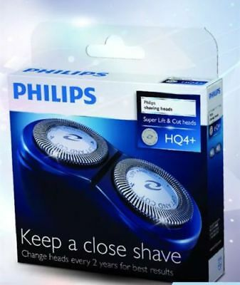 Genuine Philips Replacement HQ3HQ4HQ4+HQ55HQ56 Shaver Head Razor Blades Cutter