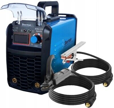 Inverter ARC Welder Machine 200A IGBT Sherman Speedy MMA 200 Stick 200Amp MMA