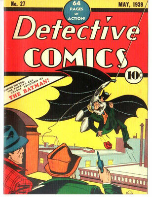 Detective Comics #27 May 1939 Custom Made Cover 1st Batman REPRINT