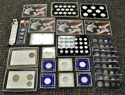 Large Coin Case Lot. ITEM D40