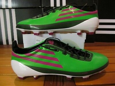 c4e32851265 DS Adidas F50 Adizero TRX FG Green Pnk 12 G43962 Soccer Cleats boots messi  mania