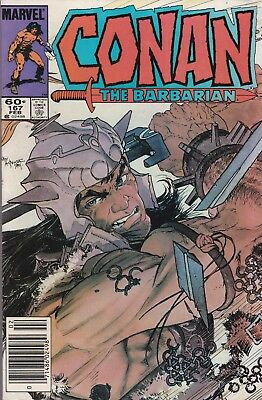 Conan The Barbarian #8 1985 Marvel Comics. VG