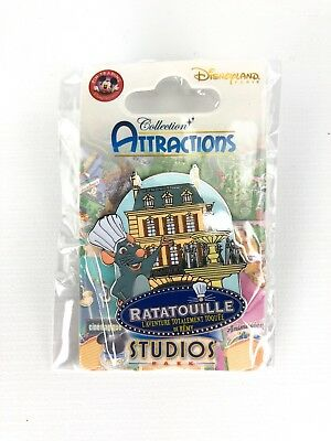 Ratatouille Collection Attractions Authentic Disney Trading Pin