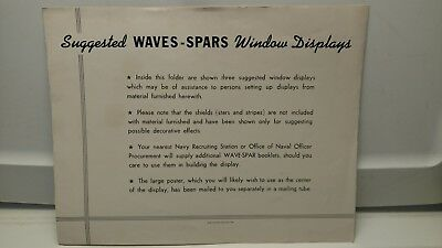Vintage 1943 Waves and Spars Recruitment Poster Order Form-Original