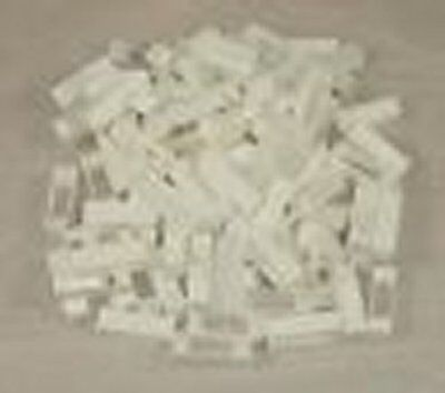 100 Narrow Plastic Frame Ends - Spacers - Beekeeping - Beehive - National - Bee