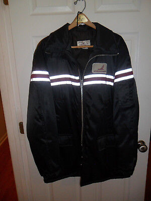 Piedmont Airlines Lined Coat & Hat by Fashionaire Airport Ramp Coat Size Medium