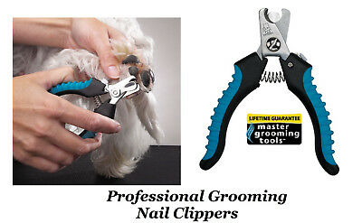 Master Grooming Tools SMALL PET NAIL CLIPPER DOG CAT BIRD Claw Scissor TRIMMER b