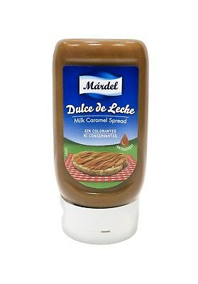 Mardel Dulce de Leche Classic 370g in squeezable bottle - Made in Spain