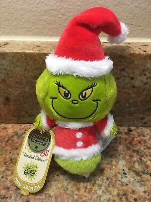 HALLMARK Itty Bitty Bittys Grinch Limited Edition Dr. Seuss How The Grinch Stole