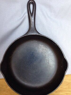 Vintage Wagner Ware Sidney -0- #6 Cast Iron Skillet Frying Pan 1056 L Dual Spout