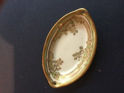 Nippon Hand Painted Butter Pat Dishes 6