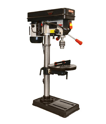 """Craftsman 12"""" Drill Press with Laser and LED Light Mechanic Workshop 12 inch"""