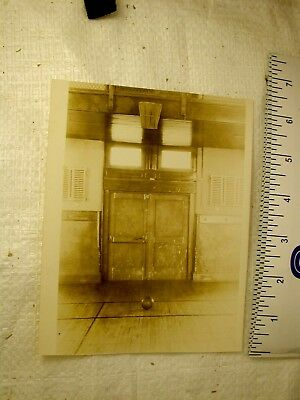 basketball memorabilia: James Naismith's personal photo of very first gym 1891
