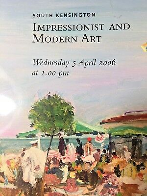 Impressionism - Impressionist And Modern Art 5 April 2006 Vintage  Christie's UK