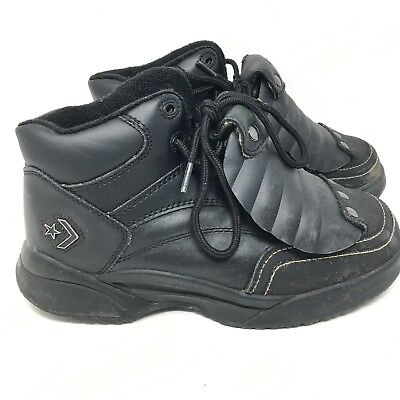 88002c9fd89 Converse Steel Toe Met Guard EH Work Boots C498 Black Mens Sz 7 W Womens Sz