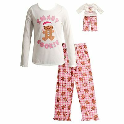 Dollie Me Girl 4-14 and Doll Matching Smart Cookie Pajamas Outfit American  Girl 75da08aa8