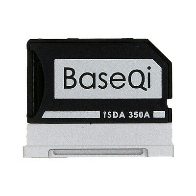 350A BASEQI Aluminum Microsd Card Adapter/Reader For Microsoft Surface Book13.5'