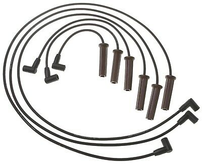 New Oem Acdelco 726hh Spark Plug Wire Set Sparkplug Wire Kit Gm
