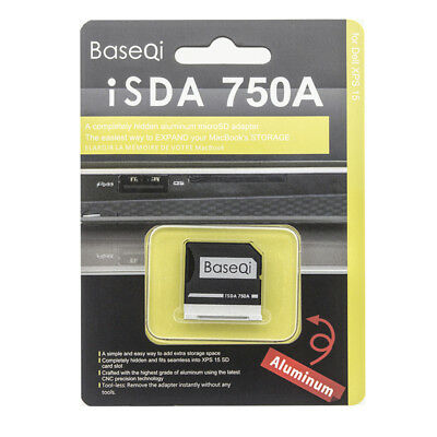 "BaseQi Aluminum Memory Card Reader750A For Dell XPS 15"" 9550 Increase Storage"