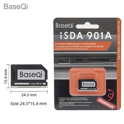 Original BASEQI Aluminum Minidrive Microsd Card Adapter 901A For LENOVO YOGA900