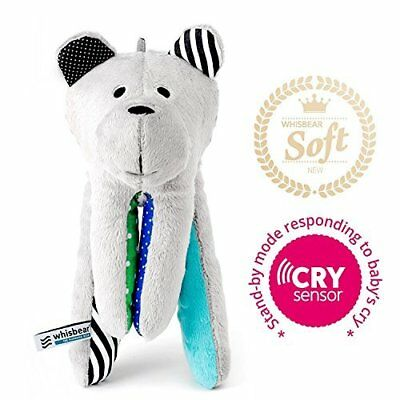 Whisbear Baby Sound Machine - The Best Sleep Soother on the Market - No More