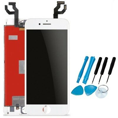 For White iPhone 6S 4.7''LCD Display Touch Screen Digitizer Assembly Replacement