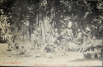 Carte Postale Ancienne Nouvelle Caledonie (New Cledonia)