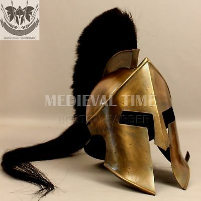 300-Spartan-king-Leonidas-Helmet-Medieval-Greek-Armour-Collectible-gift-SCA KJHG