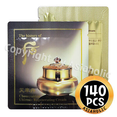 The history of Whoo Cheonyuldan Ultimate Regenerating Cream 1ml x 140pcs (140ml)