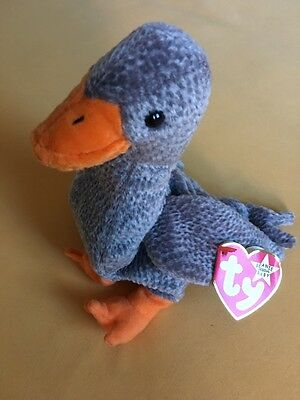 "TY Beanie Baby  ""Honks""  Goose"