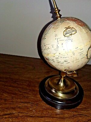 "Replogle World Class 5"" Diameter Desktop World Globe 10"" Tall"