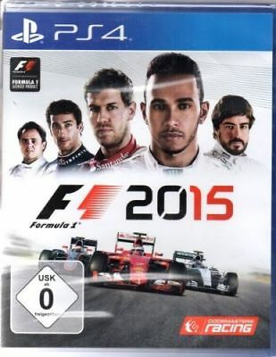 F1 2015 - Formula 1 - PlayStation PS4 - deutsch - Neu / OVP
