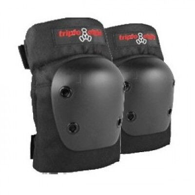 Triple 8 Street Black Large Elbow Skateboard Pads. Best Price