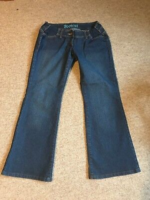 Women's Clothing Next Maternity Bootcut Jeans Size 10 Regular