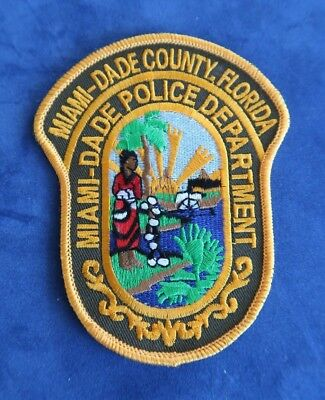 New / Unused - Miami-Dade County, Florida - Police Shoulder Patch
