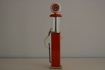 Roy's Miniature Replica Visible Gas Pump Orange 76 Model No.GP