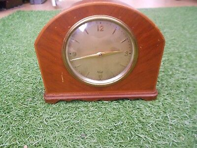 Elliott Mantle Clock - Working - Some Light Marks But Overall In Good Condition