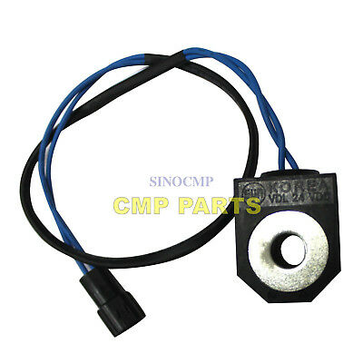DH220-5 Magnetic Switch For Daewoo Doosan Excavator Solenoid Valve SINOCMP Parts