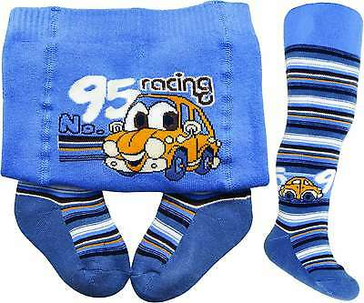 New Baby Boy Double Abs Cotton Tights/legwormers Anti Slip 18M-3Y(92-98Cm)