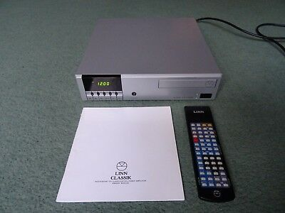 Linn Classik Amplifier CD and Tuner In Silver With Remote Control & Manual