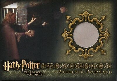 Harry Potter & The Chamber Of Secrets, Authentic Prop Card 'Floo Powder' 080/290