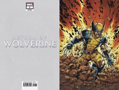 Return Of Wolverine #1 (Of 5) 1/100  Mcniven Current Costume Variant  - Nm!!!