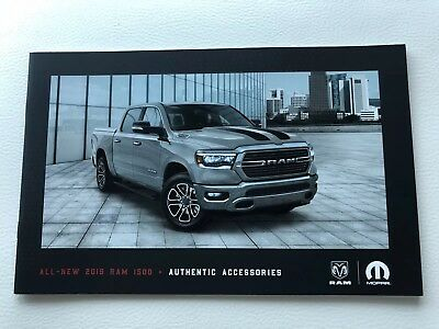 2019 DODGE RAM 1500 ACCESSORIES 16-page Original Sales Brochure