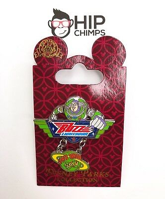 Disney Parks Buzz Lightyear Space Ranger Spin Authentic Trading Pin, 2008
