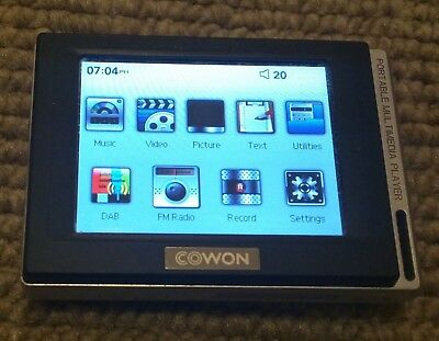 Cowon D2 4GB DAB radio MP3 Player