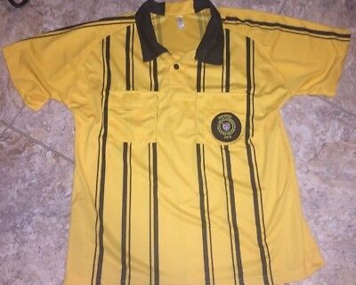 MATO   HASH Men s Soccer Referee Jersey Polo Sports Ref Official s ... ccafb4583