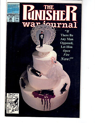 The Punisher War Journal #36 (Nov 1991, Marvel) Bagged and Boarded